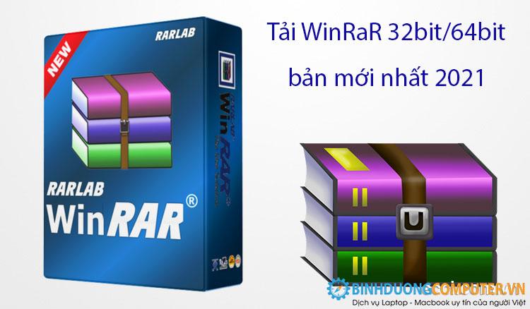 Tải WinRaR 32bit/64bit bản mới nhất 2021