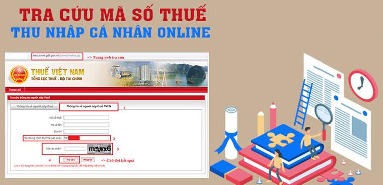 Tra cứu mã số thuế cá nhân và doanh nghiệp online bằng CMND
