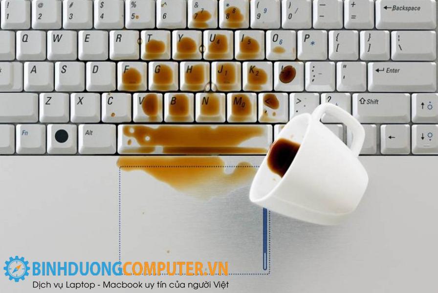 Cấp cứu laptop khi bị vô nước