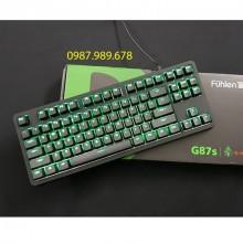 Bàn phím cơ Fuhlen G87S Gaming Blue Switch 87 Black
