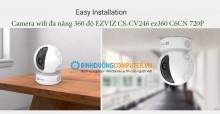 Camera wifi đa năng 360 độ EZVIZ CS-CV246 ez360 C6CN 720P