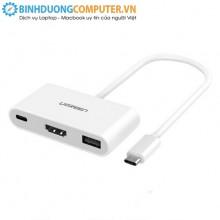 Cáp chuyển Type-C ra USB 3.0, HDMI, Type-C