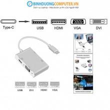 Cáp chuyển Type-C ra USB 3.0, VGA, HDMI, DVI