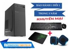 Máy PC CPU i5-10400/ H410M-A Pro/ 8GB/2666/HDD 1TB/SSD 128GB