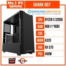 Máy PC Gaming SHARK 007 chơi game khủng giá rẻ