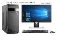 Máy bộ pc Lenovo i5 - ssd 10th 02