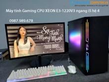 Máy tính Gaming CPU XEON E3-1220V3 ngang i5 hệ 4