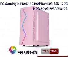 PC Gaming H410/i3-10100f/Ram 8G/SSD 120G/HDD 500G/ VGA 730 2G