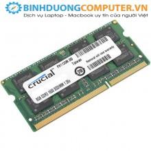 RAM Laptop DDR3L Crucial 8GB Bus 1600 SODIMM CT102464BF160B