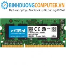 Ram Crucial 4GB DDR3L BUS 1600MHz SODIMM CT51264BF160B