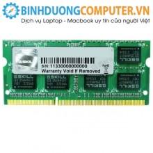 Ram DDR3L laptop Gskill 4GB Bus 1600 Mhz Vol 1.35V - CL9 S/p Intel XMP heatsink aluminium haswell