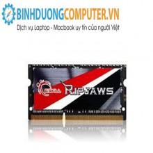 Ram DDR3L laptop Gskill 8GB Bus 1600 Mhz Vol 1.35V - CL11 S/p Intel XMP heatsink aluminium haswell