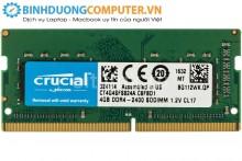 Ram Laptop CRUCIAL DDR4 NB 4G/2400 (CT4G4SFS824A)