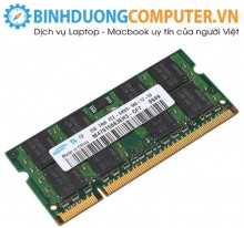 Ram ddr2 Laptop 2GB bus 667/800(hàng nhập khẩu)