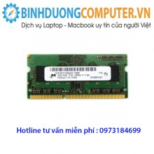 Ram ddr3 Laptop 2GB/1600 PC3L(hàng nhập khẩu)