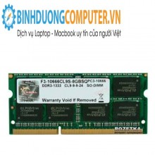 Ram ddr3 Laptop GSKILL 8GB bus 1333 VALUE