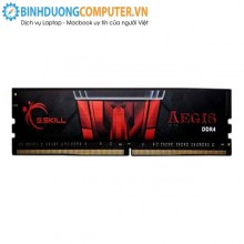 Ram ddr4 laptop Gskill 4GB Bus 2133 Mhz DDR4 - CL15 Vol 1,20v - S/p Intel XMP