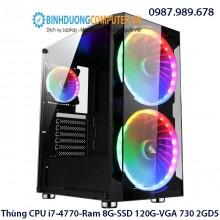 Thùng CPU i7-4770-Ram 8G-SSD 120G-VGA 730 2GD5